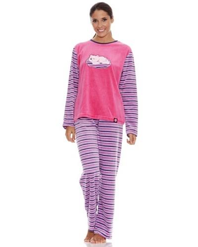 92afafc5cd Blue Dreams Pijama Señora Tundosado  Rosa