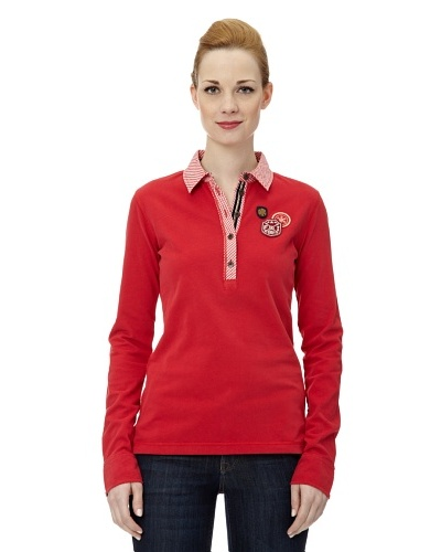 Bogner Fire + Ice Polo Edna Rojo