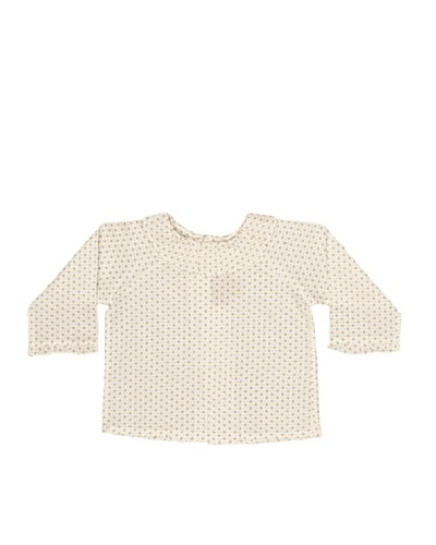 Bonnet A Pompon Blusa Cuello Redondo
