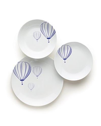 Vajilla 18 Piezas Balloon