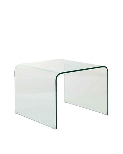 Vical Home Mesa Cuadrada Transparente