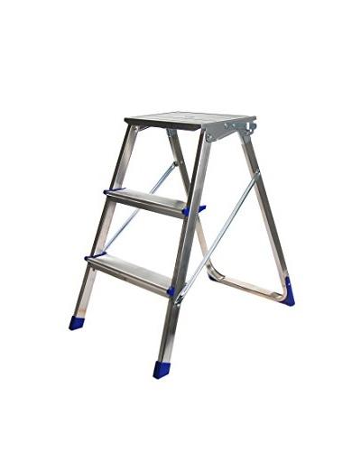 Escalera 3 Peldaños Piuma Aluminio