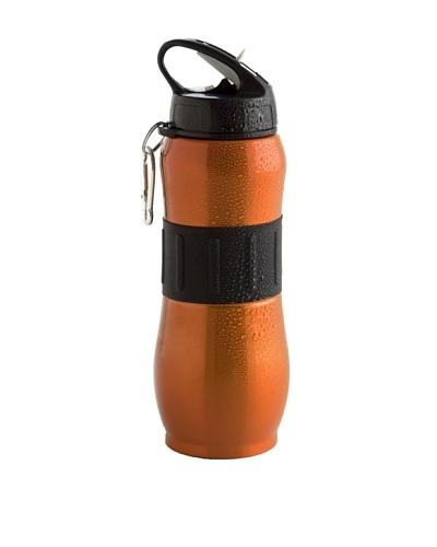 Botella Deporte 80cl Inox Naranja Modelo Go!