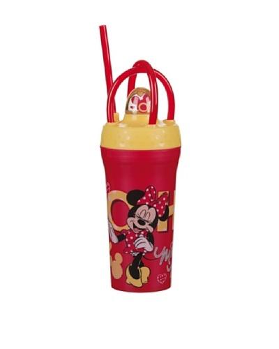 Vaso Con Tapa Y Paja 30 cl Modelo Minnie