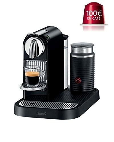 Nespresso De'Longhi CITIZ MILK + AEROCCINO Automática (100 euros en café)