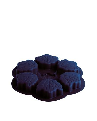 Molde 6 Pasteles Hoja Modelo Muscade