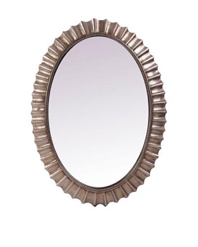 Espejo Oval Plata