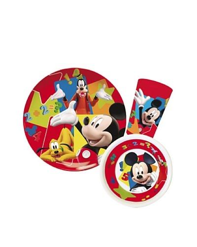 Set 3 Piezas Modelo Mickey Shape