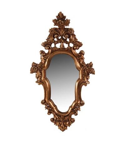 Espejo Oval Oro