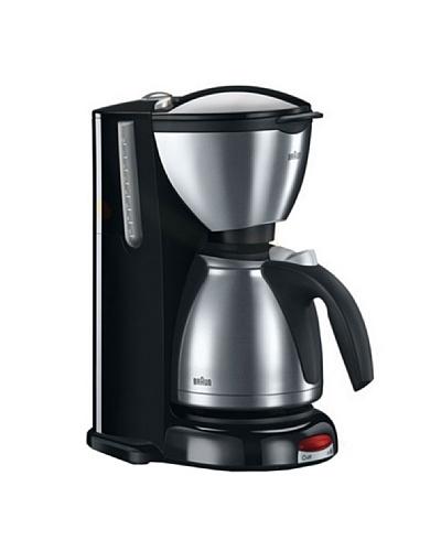 Braun Cafetera KF610 CaféHouse Sommelier con filtro Brita y jarra termo inox