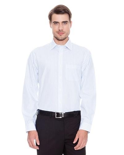 Brooks Brothers Camisa Vestir Kaden Blanco / Violeta