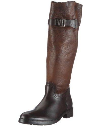 Buffalo London 1001 W 03 COW MONTONE 121239 - Botas de cuero para mujer