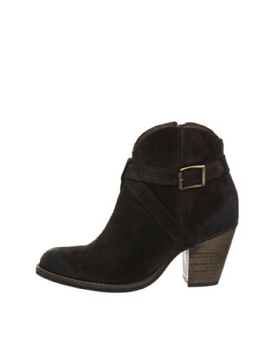 Buffalo London ES 30106 SUEDE 136377 - Botines fashion de cuero para mujer