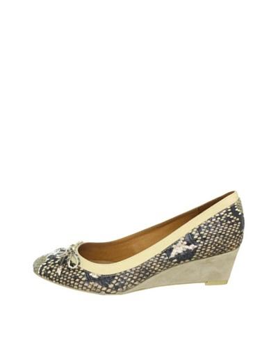 Buffalo London 110-8620 SNAKE PU 131508 - Zapatos clásicos para mujer