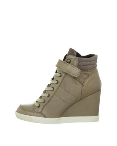 Buffalo London ES 30083 GARDA SUEDE 136928 – Zapatillas fashion de cuero para mujer