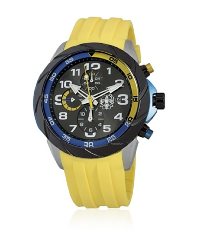 Burgmeister Reloj Buenos Aires Negro / Amarillo