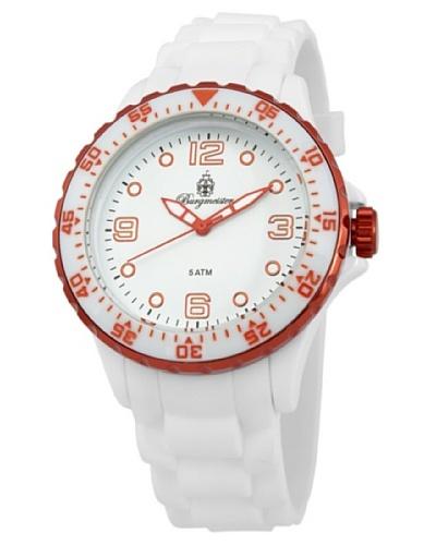 Burgmeister Reloj Analógico Cuarzo White Sport BM603-586D