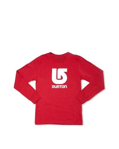 Burton Boys Camiseta Logo Langarm Longsleeve