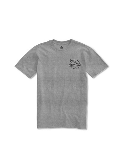 Burton Camiseta Specialty Slim Tack Str Htr