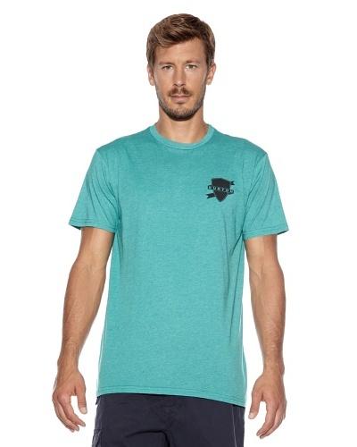 Burton Camiseta Bars Slim Fit Verde