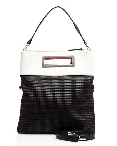 ck Calvin Klein Micromineral KRL005PMF00 – Bolso al hombro de cuero para mujer