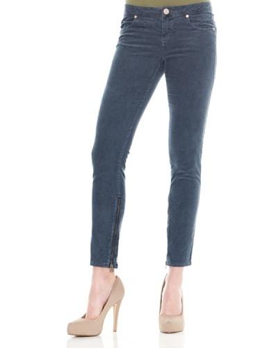 Calvin Klein Jeans Pantalón Cremalleras Azul