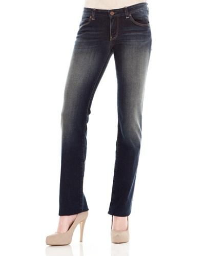 Calvin Klein Jeans Vaquero 5 Bolsillos Azul Oscuro