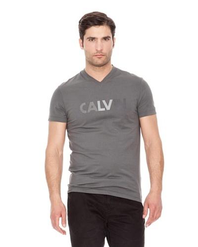 Calvin Klein Jeans Camiseta Logo Cuello V M / C