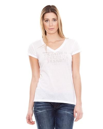 Calvin Klein Jeans Camiseta Cuello V Jeans M/C