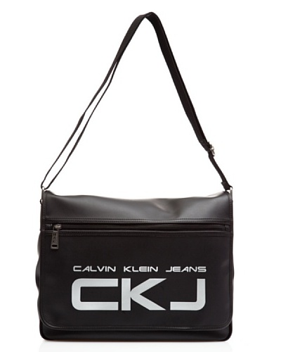 Calvin Klein Jeans Messenger Cds014 Pbo00 Negro 38 x 31 x 12 cm
