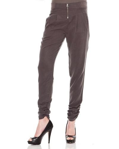 Calvin Klein Jeans Pantalón Afelpado Gris Antracita