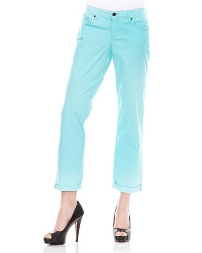 Calvin Klein Jeans Vaquero 5 Bolsillos Pitillo Azul Claro
