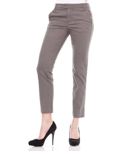 Calvin Klein Jeans Pantalón Satén Deslavado Gris