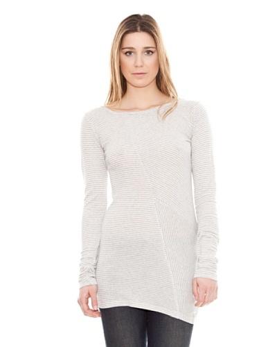 Calvin Klein Jeans Camiseta Rayas Cuello Barco M / L
