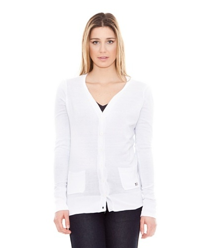 Calvin Klein Jeans Cárdigan De Punto blanco