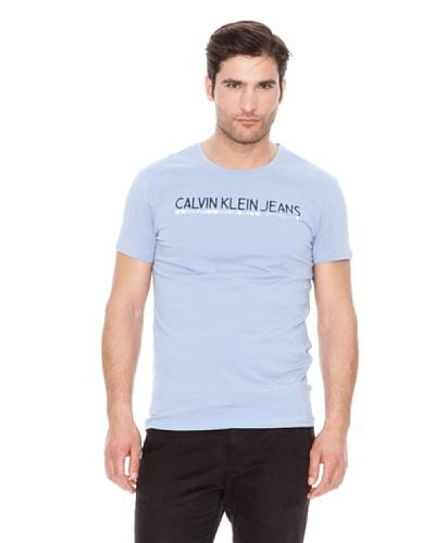Calvin Klein Jeans Camiseta Stretch Cuello Redondo M / C