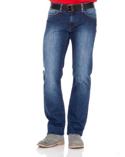 Calvin Klein Jeans Vaquero 5 Bolsillos Azul Medio