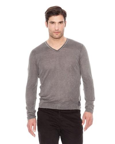 Calvin Klein Jeans Jersey Cuello V Gris