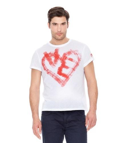 Calvin Klein Jeans Corazón M / C Blanco