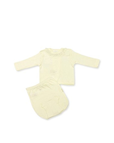 Cambrass Unisex Baby Puntilla(Frill) /187 Underwear Set