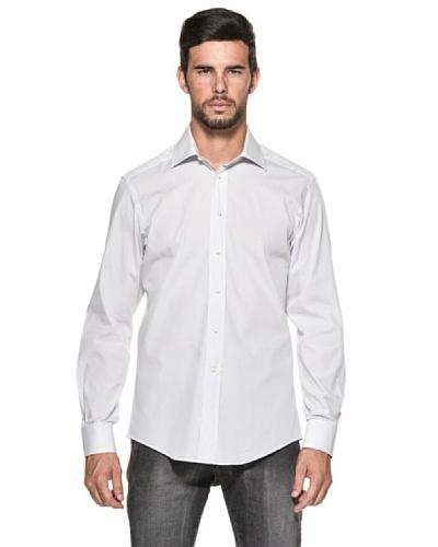 Camicissima Camicia Extra Slim Fit Righe Bianco/Grigio IT 41
