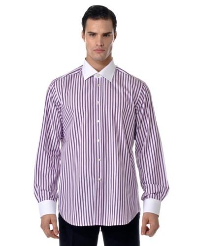 Camicissima Camisa Rayas Cuello/Puños al Contraste