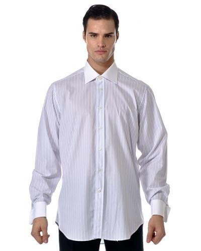 Camicissima Camisa Rayas Gemelos con Puños / Cuello al contraste