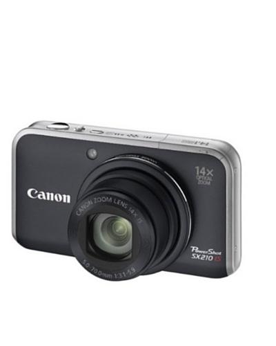 Canon PowerShot SX210 IS – Cámara Digital Compacta 14.1 MP – Negro