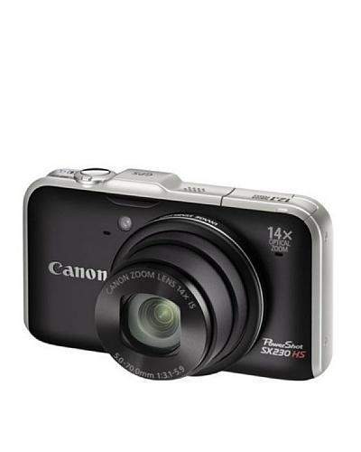 Canon PowerShot SX230 HS – Cámara Digital Compacta – 12.1 MP – Negro