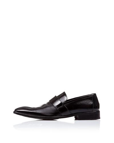 Caramelo Zapato Vestir Negro