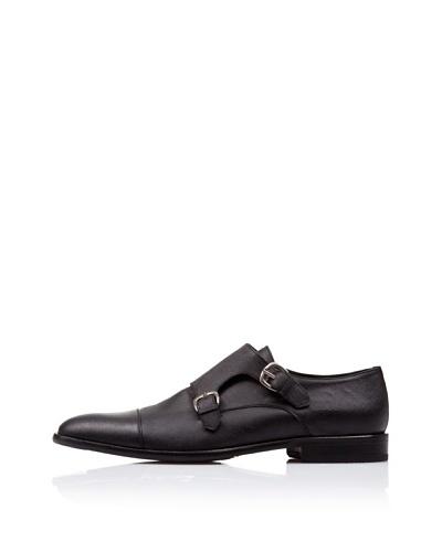 Caramelo Zapatos Vestir Negro