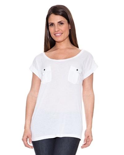 Caramelo Camiseta Kate Blanco