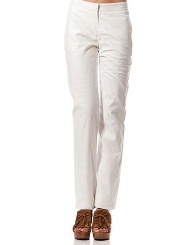 Caramelo Pantalón Vestir Blanco