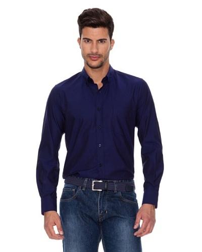 Caramelo Camisa Fiesta Azul Tinta